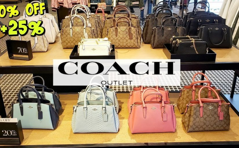 Find One At A Coach Outlet Online